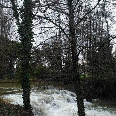 River Caudeau, Bergerac